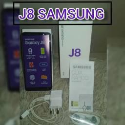 Samsung J8 Zerado com TUDO! NOTA FISCAL