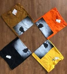 Camisas em atacado