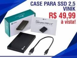 "Case Para Ssd 2.5"" Sata Para Usb 2.0"