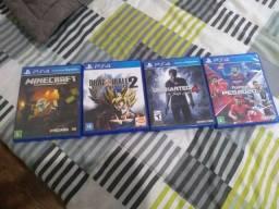 JOGOS PS4 TROCO/VENDO