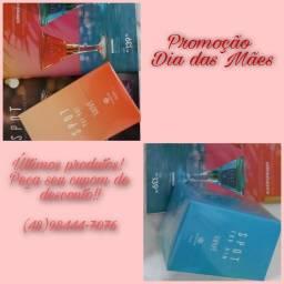 Perfume masculino e feminino promoção