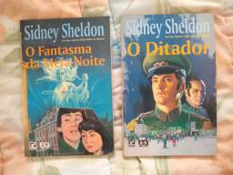 Livros Usados - Sidney Sheldon e mais
