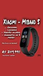 Xiaomi - Miband 5 Original Lacrado Versão Global