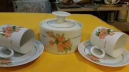 Conjunto 3 peças da Porcelana Renner