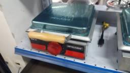 Prensa sanduicheira eletrica metalcubas (nova) Alecs