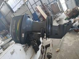 Lancha marajó 16 motor de 40 hp yamara