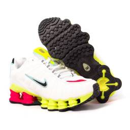 Tênis Nike Shox TLX 12 Molas Refletivo Premium<br><br>