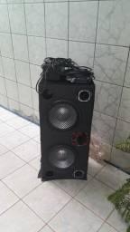 Caixa de som para veículo