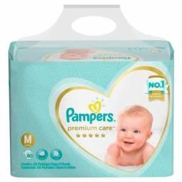 Fraldas Pampers Premium Care M 80 U