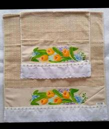 Kit toalha de banho e toalha de rosto