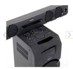 Mini System Sony Flex MHC - GT3D 600W, NFC E Bluetooth