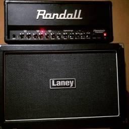 Amplificador Randall (300w) + caixa Laney (2x12')