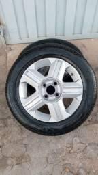 Vendo roda aro 14 com pneu