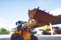 Pa carregadeira nova P/2 tons concha 1m3