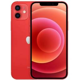 iPhone 12 Apple 64GB RED tela 6,1  Câmera dupla 12MP iOS