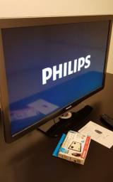 "TV PHILIPS 40"" LINDA E PERFEITA!"