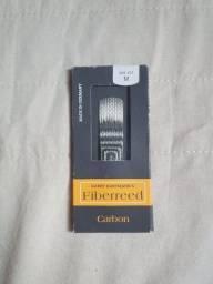 Palheta Fiberreed Carbon Classic Sax Alto Medium