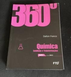 Box 360 Quimica F T D  Dalton Franco, com 6 volumes, usado,
