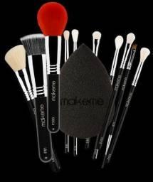 Kit Completo Black Edition - Pincéis de Maquiagem<br><br>