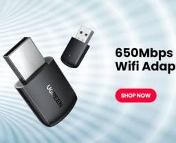 Adaptador Wifi Ugreen 650mbps 2.4 ghz / 5 ghz
