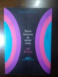 Livro- Breve História de Quase tudo (Bill Bryson)