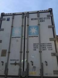 Container térmico Reefer câmara fria - pagamento só na entrega
