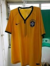 Camisa Brasil Nike n°10 Original