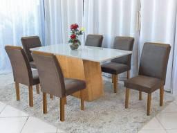 Mesa de Jantar Servilha 6 cadeiras - Pronta Entrega!!!!