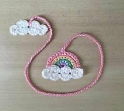 Marca página de crochê