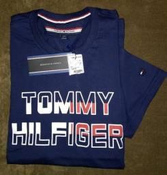 Camiseta Tommy Hilfiger Estampada - ( P )