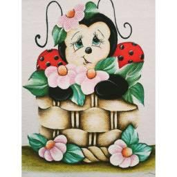 Pano de prato pintado