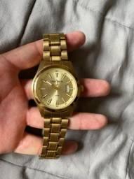 Relógio Mondaine Original-Banhado a Ouro 18K