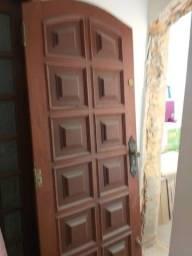 Kit para porta madeira fechadura,, dobradiças e fechadura trava tetra