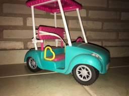 Carro da Barbie tamanho para boneca Barbie