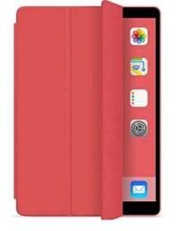 """Capa Smart Cover Premium Ipad 7a e 8a Geração 10.2"""" (2019) - A2197/A2200/A2198 - Vermelha"""