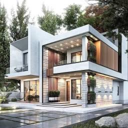 Casas com 5 quartos, Projetos personalizados no AlphaVille Mirante. Venha conferir!