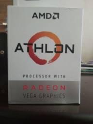 AMD Athlon 3000G 3.5Ghz / Usado; em bom estado