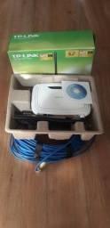 Modem Roteador Tp-Link+ cabo 35m
