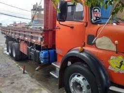 caminhão mercedes benz ano 1975, 3 lugares revisado