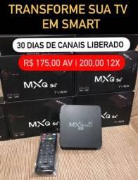 Tvbox nova a pronta entrega PROMOÇÃO 160,00