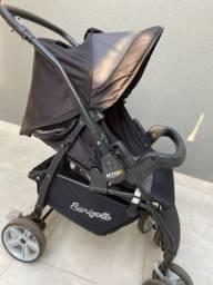 Carrinho Burigotto AT6K + bebê conforto