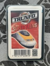 Título do anúncio: Cartas Colecionáveis Super Trunfo - Super Trens
