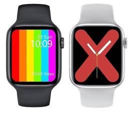 Smartwatch IWO 12 W46 44mm tela infinita Relógio inteligente