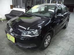 VW Voyage Trend 1.6 8V Flex Mec Completo 2014 Airbags ABS Preto