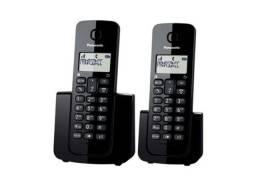 Telefone Sem Fio Panasonic Preto Tgb110 Lbb C/ Identificador