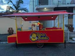 Carrinho de Batata Frita/ Churros/ Lanches etc...