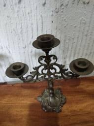 Candelabro Antigo ( 3 velas)