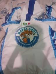 Jaqueta mafia azul ..