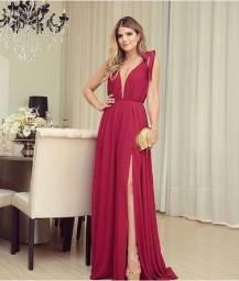 Vestido vermelho Tugore