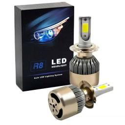 Lampada Led Farol Carro Super Branca 6500k/3000 Lumens
